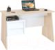 Компьютерный стол Сокол-Мебель КСТ-115 (дуб сонома/белый) -