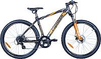 Велосипед PIONEER Challenger (18, черный/оранжевый/белый) -