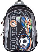 Школьный рюкзак Orange Bear V-57 (черный/серый) -