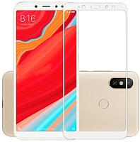 Защитное стекло для телефона Case Full Screen для Redmi S2 (белый) -