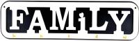 Ключница настенная Grifeldecor Family / BZ182-4W146 -