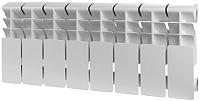 Радиатор алюминиевый Rommer Plus 200 (1 секция) -