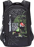 986c683567a8 Добавить в сравнение код 634.050 Сумка/рюкзак/чемодан Grizzly RU-801-2  (серый) -