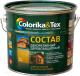 Защитно-декоративный состав Colorika & Tex 2.7л (макассар) -