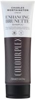 Шампунь для волос Charles Worthington Для темных волос 2в1 усиление цвета и восстановление волос (250мл) -