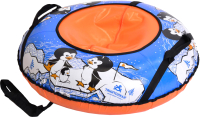 Тюбинг-ватрушка Тяни-Толкай 830мм Пингвин (тент, TT White) -