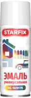 Краска Starfix SM-103031-1 (520мл, белый глянец) -