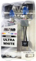 Комплект автомобильных ламп AVS Alfas Pure-White / A07245S -