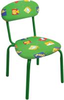 Стул детский Ника СТУ5 Звери (зеленый) -