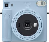 Фотоаппарат с мгновенной печатью Fujifilm Instax Square SQ1 с пленкой Instax Square 10шт (Glacier Blue) -
