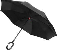 Зонт-трость Platinet PLUCHB (черный) -