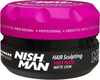 Паста для укладки волос NishMan M5 Sculpting Matte Look сильной фиксации (100мл) -