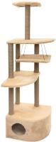 Комплекс для кошек Чип Башня угловая / 8370беж -