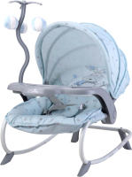 Детский шезлонг Lorelli Dream Time Blue Bunny / 10110062043 -