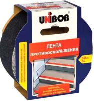 Скотч противоскользящий Unibob 39293 (50ммx5м, черный) -