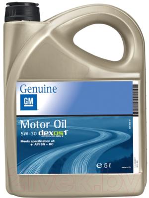 Моторное масло GM Opel 5W30 Dexos1 Gen.2 / 95599877 (5л)