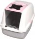 Туалет-домик Catit 50700 (розовый) -