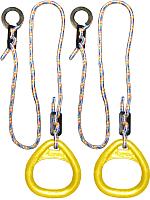 Кольца гимнастические Формула здоровья КГ02В (желтый) -
