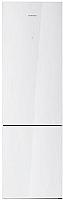 Холодильник с морозильником Daewoo RNV3610GCHW -
