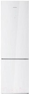 Холодильник с морозильником Daewoo RNV3610GCHW