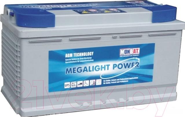 Купить Автомобильный аккумулятор Monbat, Megalight AGM 81070 / ML81070 (80/60 А/ч), Болгария