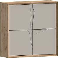 Шкаф навесной WellMaker Куб П-100 (техас/кварцевый) -