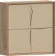 Шкаф навесной WellMaker Куб П-100 (техас/песочный) -
