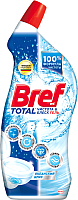 Чистящее средство для унитаза Bref Тотал гель чистота и блеск океанский бриз (700мл) -