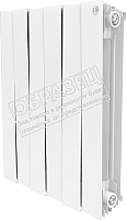 Радиатор биметаллический Royal Thermo PianoForte 500 Bianco Traffico (3 секции) -
