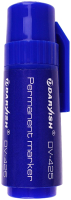 Маркер перманентный Darvish DV-425 (синий) -
