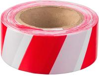 Лента сигнальная Klebebander 50ммх90м (красный/белый) -