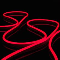 Гибкий неон Elektrostandard LS001 220V 9.6W 120Led 2835 IP67 (5м, красный) -