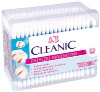 Ватные палочки Cleanic Classic прямоугольная коробка (200шт) -