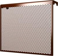 Экран для радиатора ERA 7 ДМЭР (коричневый) -