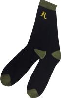Термоноски REMINGTON 100 Den (р-р 43-46, черный/зеленый) -