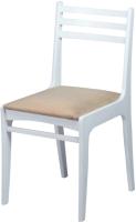Стул Чепецкая мебельная фабрика С8 (белая эмаль/аполло бежевый) -