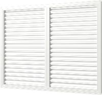 Решетка вентиляционная ERA П6090Р (белый) -
