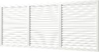 Решетка вентиляционная ERA П60150Р (белый) -