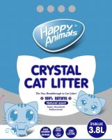 Наполнитель для туалета Happy Animals Синий (3.8л) -