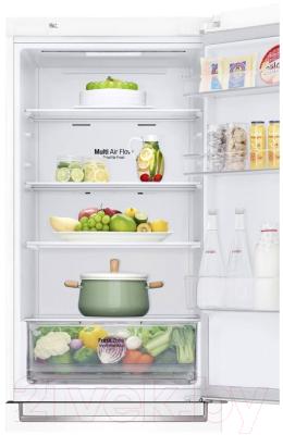 Холодильник с морозильником LG GA-B459SQQM