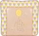 Пеленальный матрас Polini Kids Disney Baby Медвежонок Винни 77x72 (макиато/желтый) -