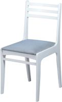 Стул Чепецкая мебельная фабрика С8 (белая эмаль/твист графит) -