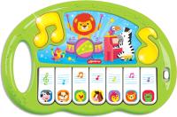 Музыкальная игрушка Азбукварик Пианино. Волшебные нотки / AZ-2768В (зеленый) -