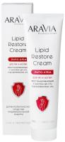 Крем для рук Aravia Professional Lipid Restore Cream с маслом ши Д-пантенолом (100мл) -