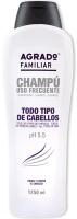 Шампунь для волос Agrado Shampoo Familiar All Types Of Hair (1.25л) -