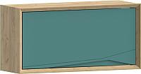 Шкаф навесной WellMaker Куб ПВ2-100 (аризона/морской) -