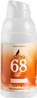 Крем солнцезащитный Sativa Невидимый минеральный №68 Rose Beige SPF30 (30мл) -