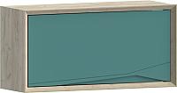 Шкаф навесной WellMaker Куб ПВ2-100 (монтана/морской) -