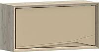 Шкаф навесной WellMaker Куб ПВ2-100 (монтана/песочный) -