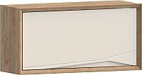 Шкаф навесной WellMaker Куб ПВ2-100 (техас/снежный) -